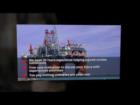 Offshore Injury Lawyer | Maritime Lawyer | 1-800-692-3918