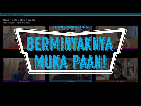 GRWP (Get Ready With Paan) Untuk Raya 2020! | Sterk Production