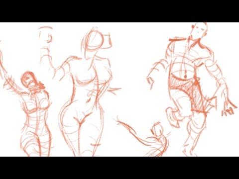 Figure Drawing Part 1: Gesture Drawing