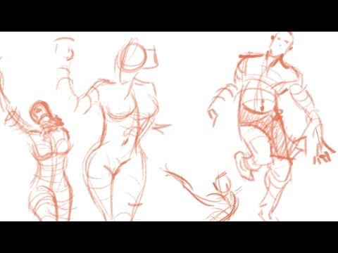 Figure Drawing Part 1: Gesture Drawing