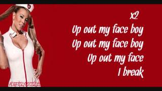 Mariah Carey Up Out My Face Feat. Nicki Minaj Lyrics Video