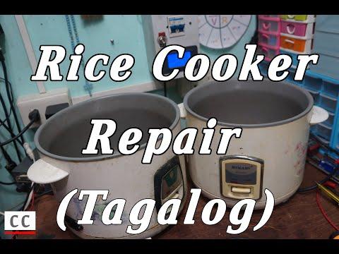 Rice Cooker Repair (Tagalog)