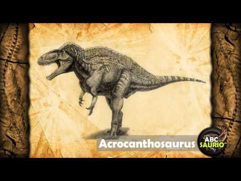 Acrocanthosaurus | ABCsaurio