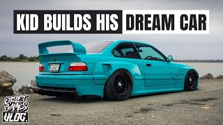 16 YEAR OLD BUILDS E36 BMW | WIDE-BODY ON WORK WHEELS
