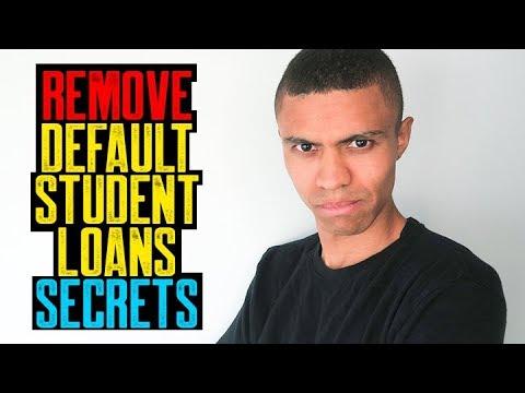 REMOVE DEFAULT STUDENT LOANS SECRETS || 122 POINTS CREDIT SCORE BOOST