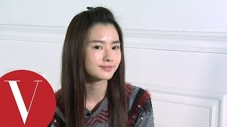 吳克群女友陳語安教你過渡期瀏海這樣夾|女星請分享|Vogue Taiwan