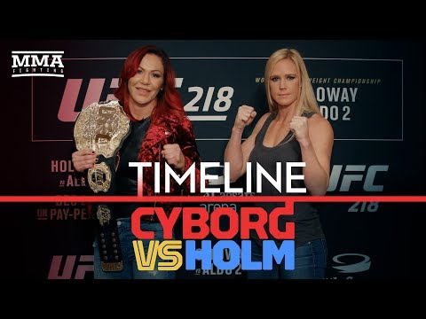 UFC 219 Timeline: Cris Cyborg vs. Holly Holm - MMA Fighting