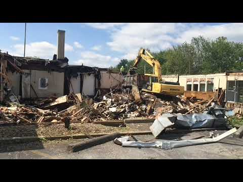 Original Harrisburg-area Howard Johnson's restaurant building demolished