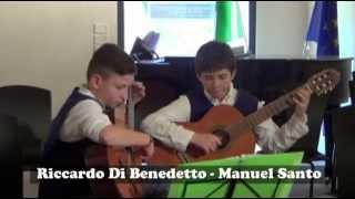 """""""Lesson for Two Lutes"""" 2 chitarre I.C. """"Carducci"""" Gaeta 1° Premio Assoluto Concorso Nazionale"""