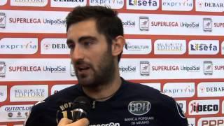 15-11-2014: Iacopo Botto nel post Molfetta-Monza
