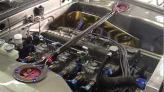 最強GT-Rのエンジン始動