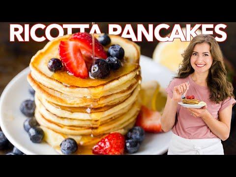 lemon-ricotta-pancakes---easy-breakfast-pancakes-recipe