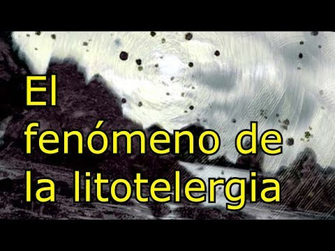 El fenomeno de la litotelergia - YouTube