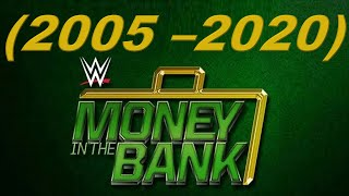 EVERY WWE MONEY IN THE BANK WINNER (2005 - 2020)