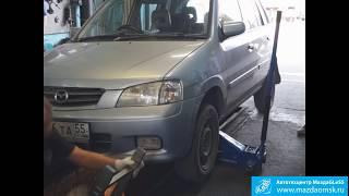 видео Замена ступицы - замена подшипника ступицы Mazda (Мазда)