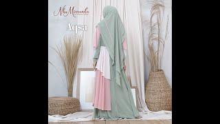 Inspirasi Model Baju Gamis Syari Terbaru 2020 Buat Wanita Muslimah Cantik Youtube
