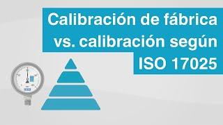 Calibración de fábrica vs. calibración trazable según ISO 17025 | ¿Cuál es la...