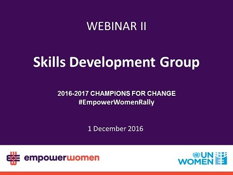 2016-2017 Prospective Global Champions – Skills Development