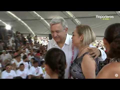 Gira por  Campeche  del Lic. Andrés Manuel López Obrador , Presidente de México