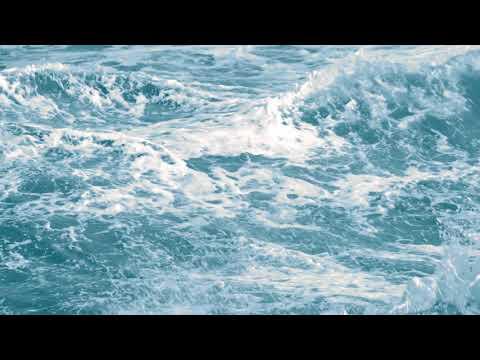 ФУТАЖ Океанские волны