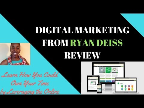 Digital Marketing from Ryan Deiss Review 2017 | Digitalmarketer.com HQ review 2017