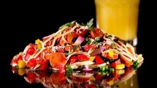 Салат из огурцов и помидоров: варианты сервировки #салат