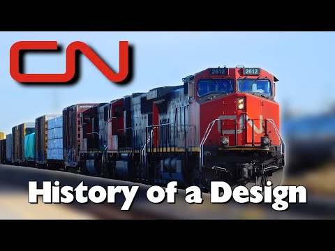 Canadian National Railway: History Of A Design