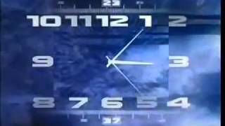 Часы ОРТ/Первого Канала (1.10.2000 — 31.05.2011). Вечерняя версия
