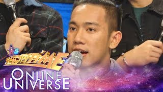 Showtime Online Universe: John Michael Dela Cerna shares significant events of his singing career