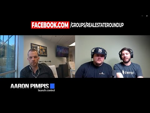 Real Estate Roundup Podcast   Aaron Pimpis Of Launch Control