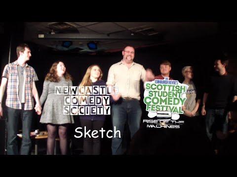 Newcastle Comedy Society Sketch @ Scottish Student Comedy Festival 2016