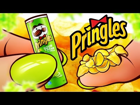 100% REAL EDIBLE MINIATURE PRINGLES CHIPS | DollHouse DIY ♥