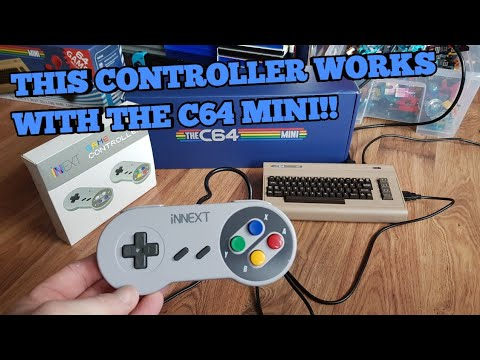 C64 Mini - ALTERNATIVE Controller that works!! - Check description for link  to buy