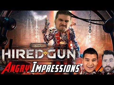 Necromunda: Hired Gun - Angry Impressions!  