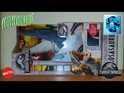 Coleccionables: Mosasaurus Jurassic World Fallen Kingdom Mattel