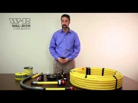 Wal Rich Underground Gas Training Part 4 Installation YouTube