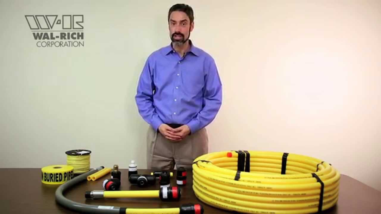Underground Running Electrical Wire Wal Rich Gas Training Part 4 Installation Youtube