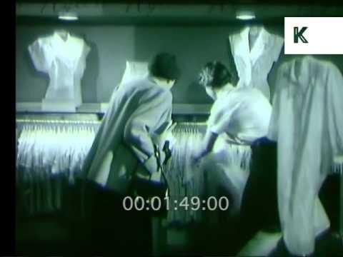 1950s Selfridges, UK Department Store, 16mm Film Rushes