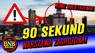 WARSZAWA ZAGROŻONA! RZĄD WPROWADZA NOWE OBOSTRZENIA!  | 90 SEKUND