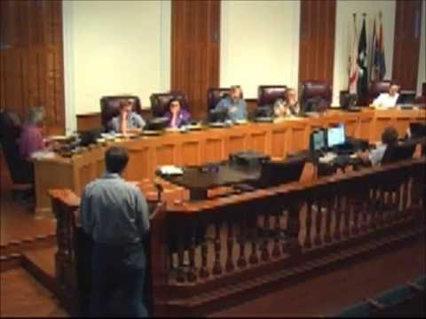 HARC meeting discussion of solar panels at City Hall