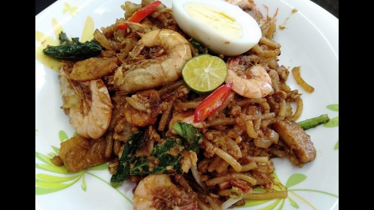 resepi mee goreng seafood mudah  sedap  tiga beradik youtube Resepi Mee Goreng Ratna Enak dan Mudah