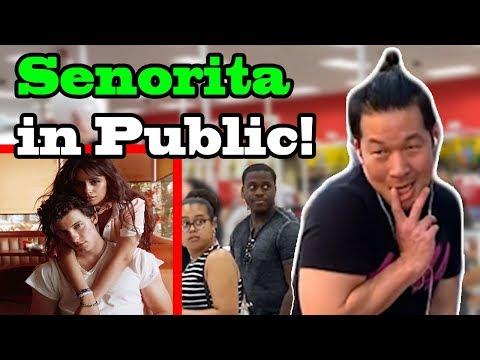 SENORITA - Shawn Mendes, Camila Cabello - DANCE IN PUBLIC!!