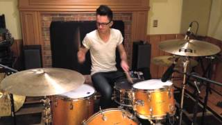 When You Were Young-The Killers Drum Cover: Sheppard Martin