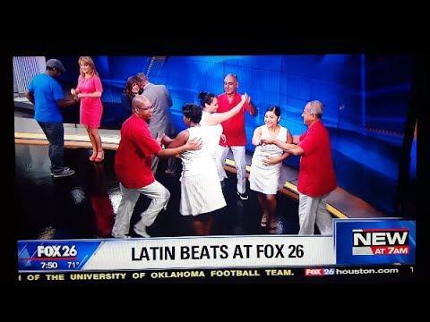 SALSA GRANDE: Rueda TV s from Fox 26 Morning  & Facebook Live in Houston, TX 6817