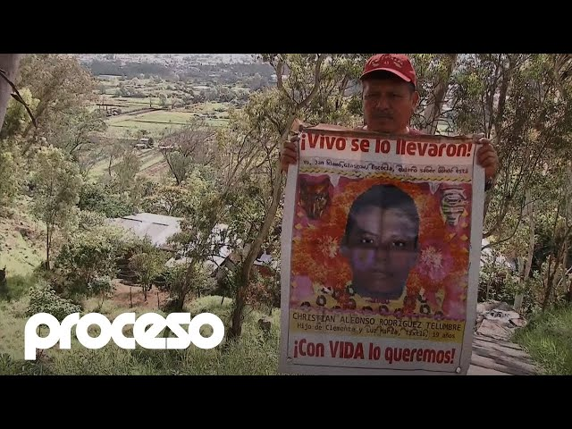 El caso Christian, estudiante de Ayotzinapa