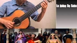 La Raine De Saba (시바의 여왕) - Classical Guitar - Played,Arr. NOH DONGHWAN