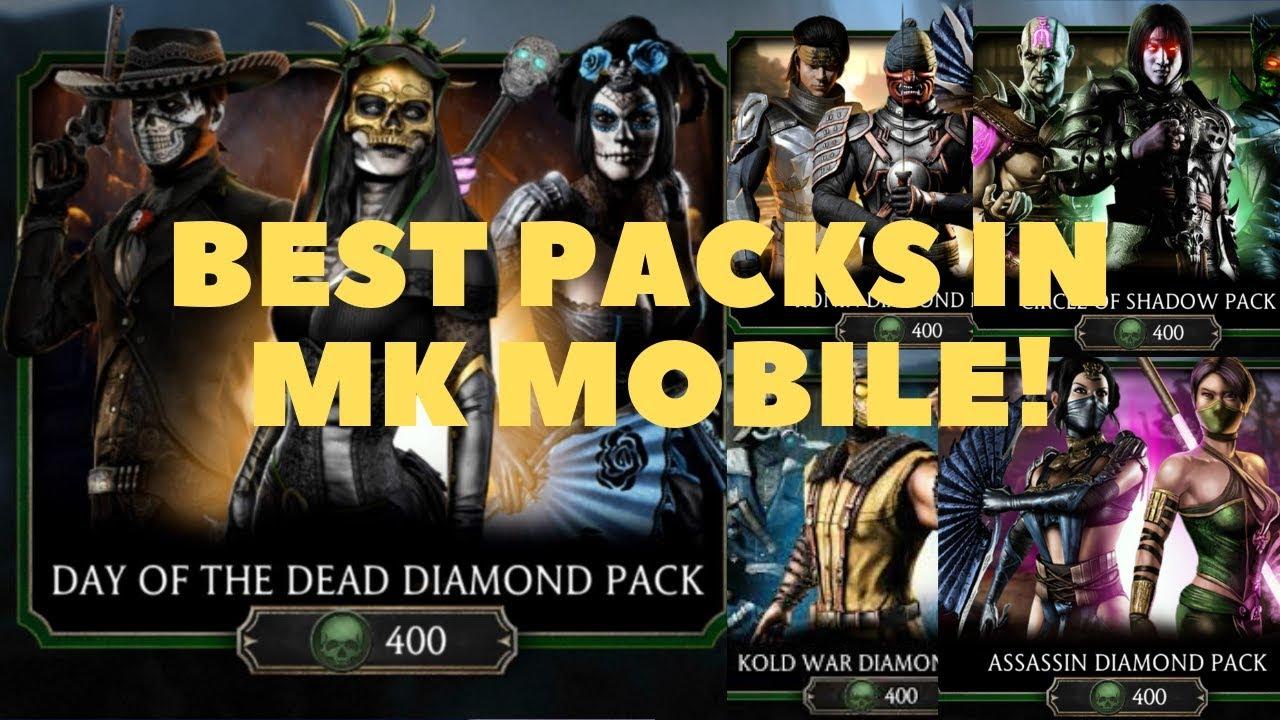MK Mobile: Episode 8  The best packs in MK Mobile  The spending souls guide!