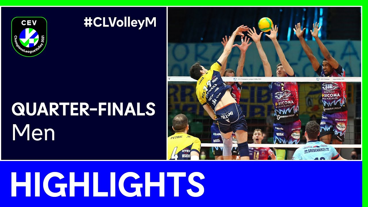 Leo Shoes MODENA vs. Sir Sicoma Monini PERUGIA Highlights - #CLVolleyM