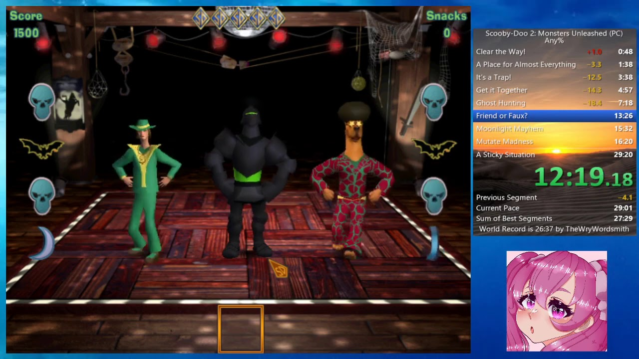 Any In 27m 56s By Deathmaster001 Scooby Doo 2 Monsters Unleashed Pc Speedrun Com