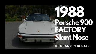 1988 Porsche 930 factory slant nose